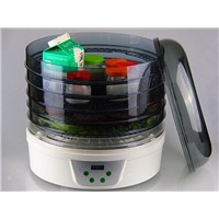Premium Food Dehydrator Featuring 360-degree Automatic Rotating Trays (FD-771A)