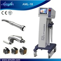 Face tightening rf fractional microneedle machine