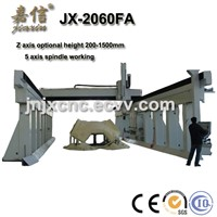 JX-2060FA JIAXIN 5 axis  CNC Router With High Gantry