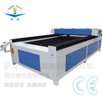 NC-1325 Stainless Steel / Aluminum / Iron / Copper /Metal CO2 Laser Type A4 Laser Cutting Machine