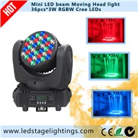 3W*36pcs RGBW LED Beam moving head light,Stage lighting,led moving head