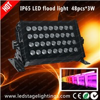 RGB DMX LED Flood lights 48pcs*3W LED stage lighting