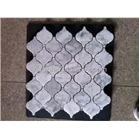 Carrara white lantern mosaic