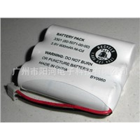 NI-CD 3.6V 600mah 3*AA GE Cordless Telephone Recgargeable Battery
