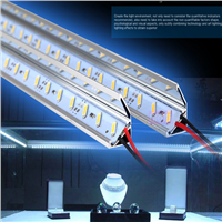 SMD7020  rigid light led bar DC12V 72 Leds/pc Cool White Aluminum led rigid  strip