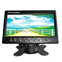 "7"" Car TFT LCD Monitor with 2 Channels Input (HY007)"