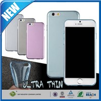 C&T Ultrathin Crystal Clear 0.3MM TPU Skin Case Cover for Apple iphone 6