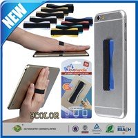 Cell Phone Accessory Universal Finger Strap Phone Grip holding tablet / smartphone