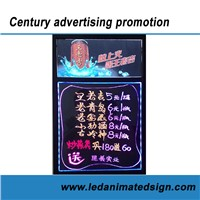 Colorful LED Writing Message Board for Advertising