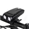 Power Beam USB Bike Light, USB Portable Flashlight and Power Bank