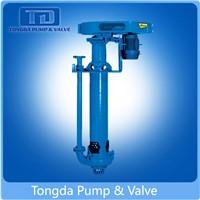 High Efficiency Good Performance Rubber Liner Acid Resistant Vertical Slurry Pump