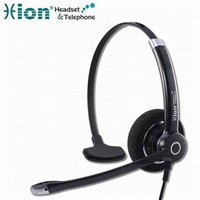 NH60 call center headset, specially designed for protecting ear from pitch sound shock