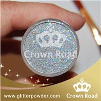 silver glitter for car paint