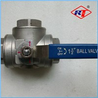 3-way ball valve female thread