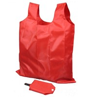 210D polyester foldable shopping bag