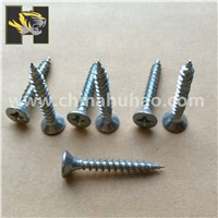 Double csk head chipboard screws