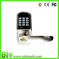 Electrical Handle Locks Keyless Password And IC Card Z-wave Remote Control Door Lock (HF-LC901)