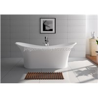 Jingzun Freestanding Bathtub Solid Surface Bathtub