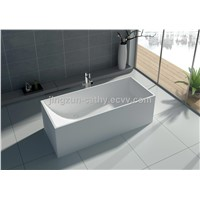 Jingzun Solid Surface Bathtub Square Bathtub-JZ8607