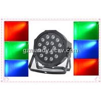 Plastic 1W  Or 3W*18Bulbs Brightness LED Flat Par Lights (MD-C009)