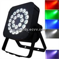 Stage 240W LED 24 bulbs * 10W 4in1 RGBW Flat Par Light with digital display (MD-C038)