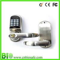 Universal Remote Control Z-wave Tech Swipe Card And Code Keyless Door Handles And Locks (HF-LC901)