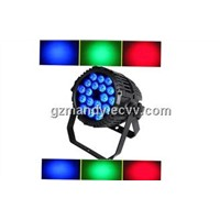 Waterproof Led 18pcs 10W 4 in 1 RGBW Par Can Light For Outdoor Use(MD-C008)