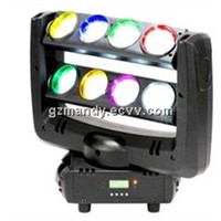 LED Double Row 8-eyes 4-In-1 RGBW Unlimited Spider Moving Head Beam Light (MD-B041)