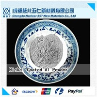 Nickel coated aluminum powder