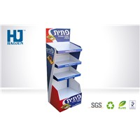 Promotional Recycled Cardboard Pallet Display Racks For Supermarket Retail