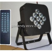 Remote Control 30W LED 9Bulbs 3 in1 / 4 in1 / 5 in1 Flat Battery Par Light(MD-C043)