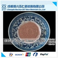Silver coated copper powder