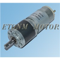 small planetar gear reductor motor dc ET-PGM32