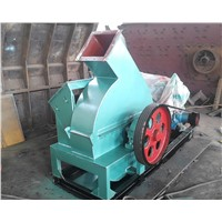 Blade type wood chipper machine