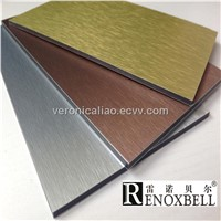 Brushed Series Aluminum Composite Panels for Curtain Wall /Wall Cladding/Decoration