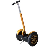 City Road Personal Transporter 2 wheel electric scooter With Bluetooth Speaker LED lighting