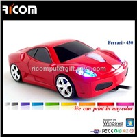 Ferrari usb car mouse,Race car mouse,car shaped mouse--MO7003S