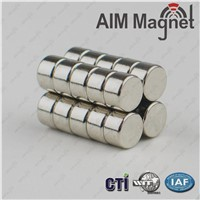 1/2 inch Dia x 1/4 inch Thickness Ndfeb Permanent Magnet for Sale
