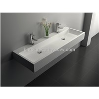 Customized Shape Solid Surface Counter-top Wash Basin-JZ9023