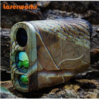 (custom-made) 2015 New camouflage Hunting 6x32 Monocular 600 Yards Laser Rangefinder