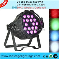 LED PAR light stage lighting 18pcs*15W 6in1 disco light
