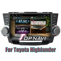 10.1inch Android 4.2 Auto GPS Navigation For  Toyota Highlander capacitive touch screen 1024*600