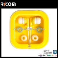 sports earphone mp3 player,earphone factory,transparent earphone--EO3005C