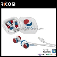 retractable earphone with microphone,earphone packaging,earpods earphone--EO3005B