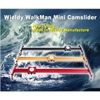 red/ golden/ gray 80cm linear camera stabilizer DSLR mini camera slider