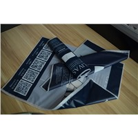FDA ASTM Approved Reclosable Reusable EVA cloths zipper bag for household Use Packaging