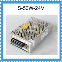 S-50-24  DC Single output switching power supply 50W 24V 2.1A