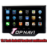 10.1 inch 1280*800 capacitive touch screen Android 4.2 Car headrest multimeida system dvd cd player