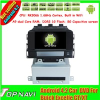 7 inch android 4.2 auto radio for Buick Excelle car dvd gps navigation wifi 3g ipod