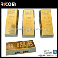 Gold bar usb hub,glowing logo usb hub,pen holder with usb hub